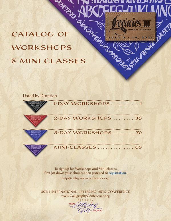 Legacies III Catalog